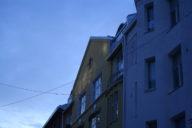 Oulun keskustan taloja