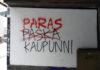 Paras Kaupunni -graffiti Oulussa