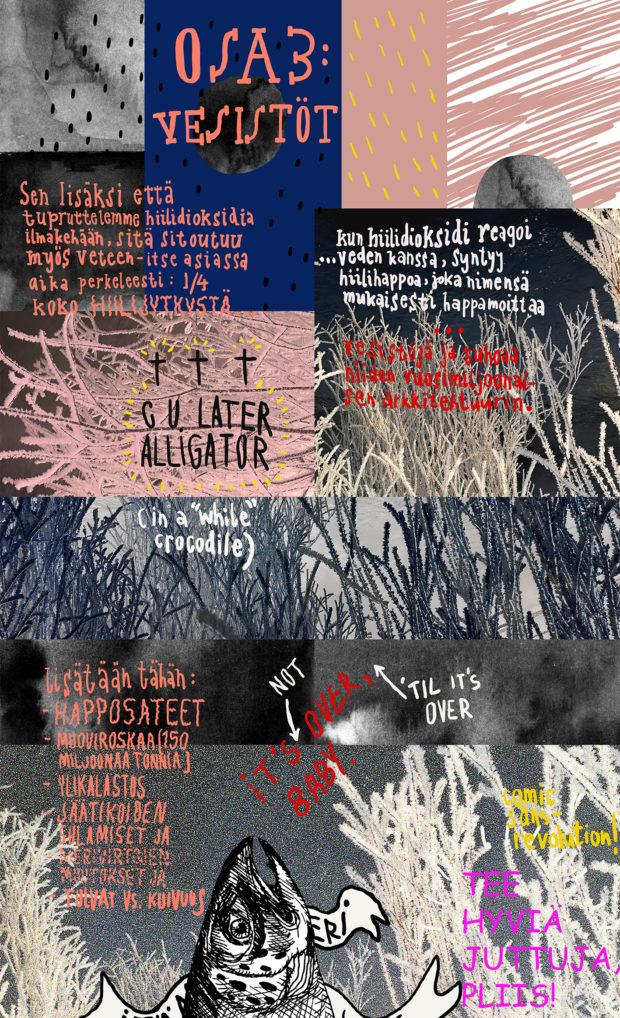 Lauri Ahtisen sarjakuva ilmastonmuutoksesta osa 3
